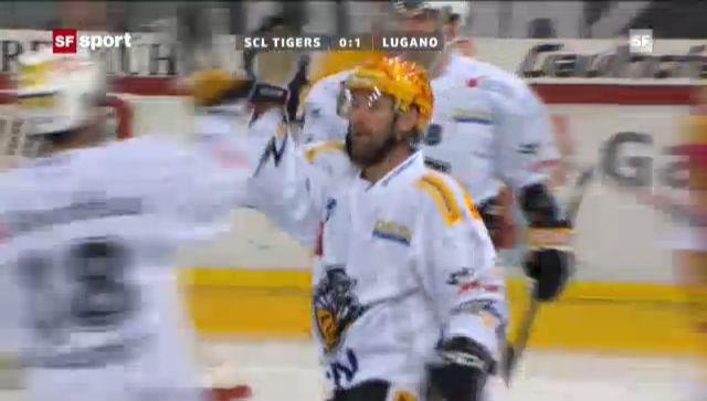 Eishockey: SCL Tigers-Lugano