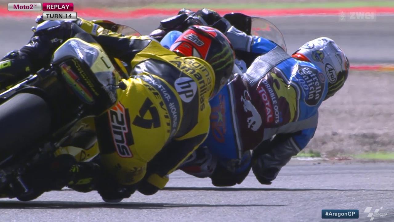 Motorrad: GP Aragon, Moto2