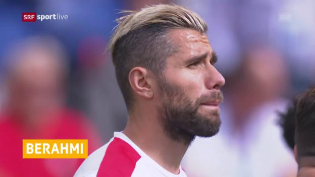 Video «Behrami fehlt gegen Lettland» abspielen