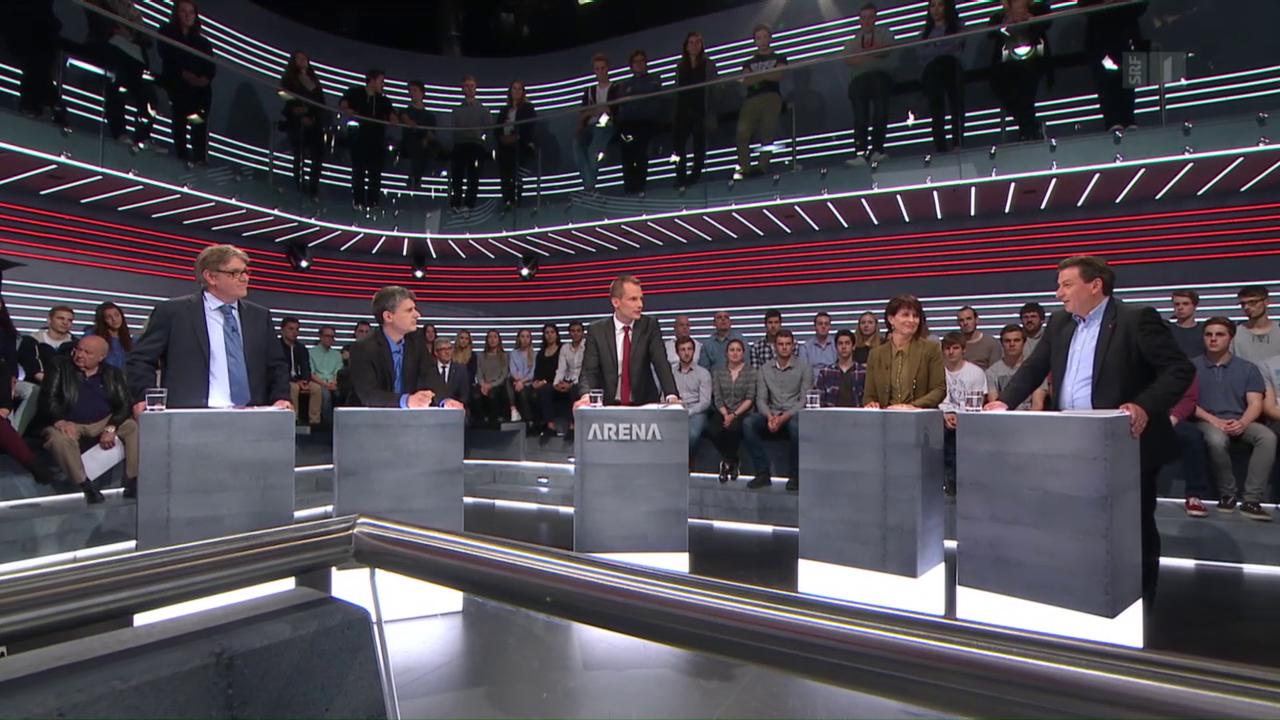 Abstimmungs-Arena: Service-Public-Initiative
