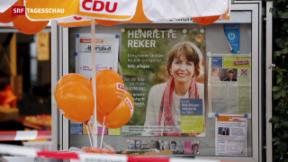 Video «Deutsche Wahlkampfkandidatin attackiert» abspielen