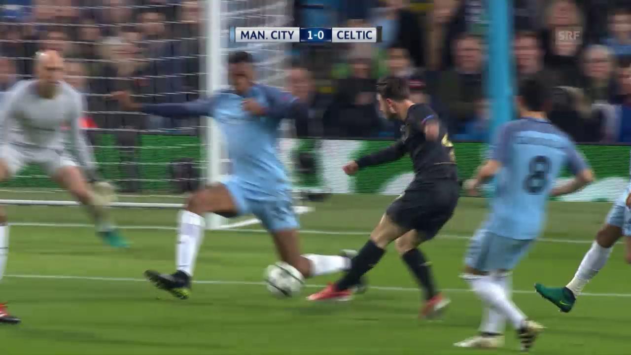 Remis zwischen Manchester City und Celtic
