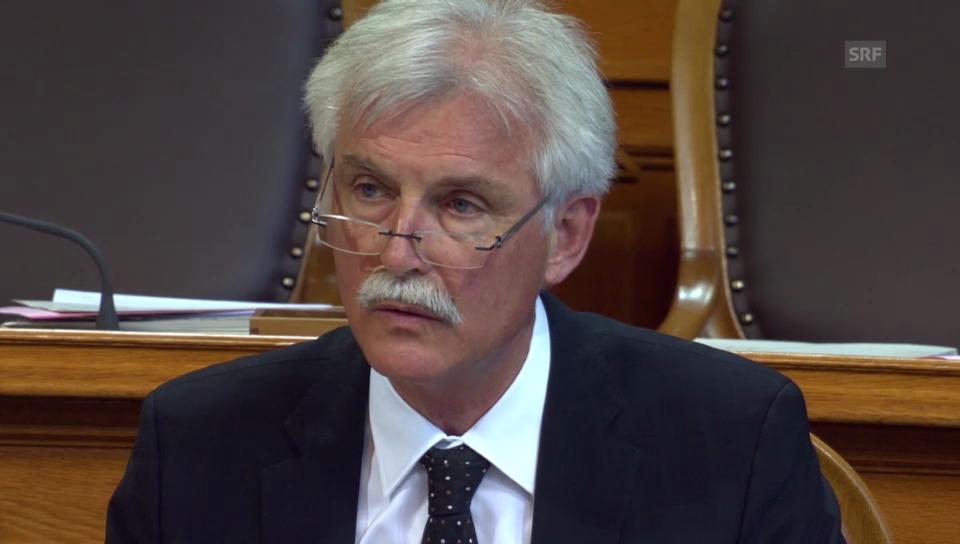 Markus Stadler (GLP/UR) weist die Vorlage zurück