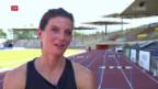 Video «Rekordfrau Lea Sprunger im Porträt» abspielen
