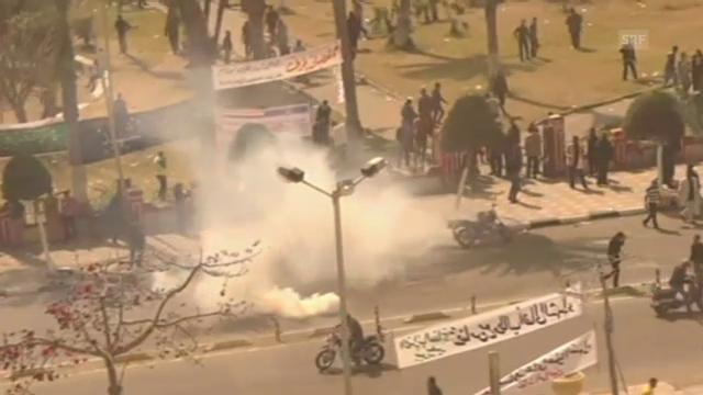 Zusammenstösse in Port Said (unkommentiert)