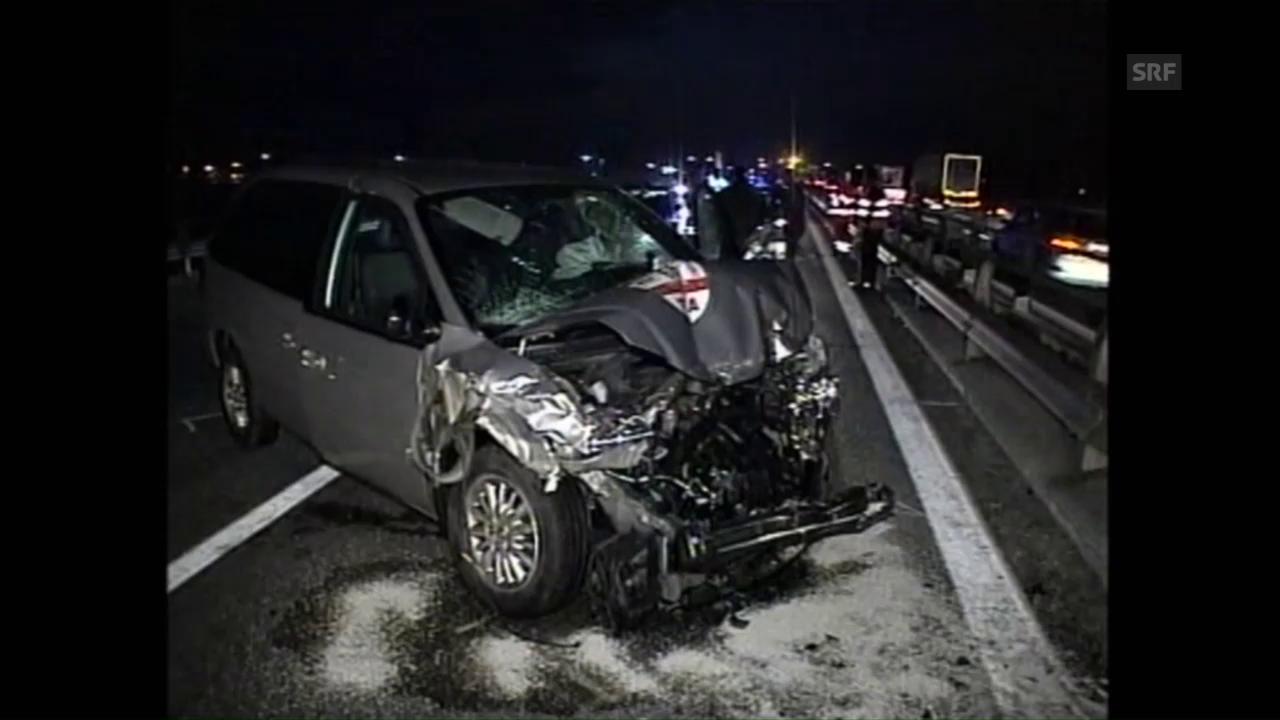Regazzonis tödlicher Unfall (Ausschnitt aus DOK)