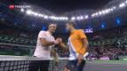 Video «Federer verliert gegen Coric» abspielen