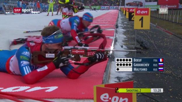 Video «Biathlon-Weltcup in Oberhof» abspielen