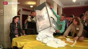 Video «Separatisten im Aufwind, Burkhalters Friedensplan, HIV-Kampagne» abspielen