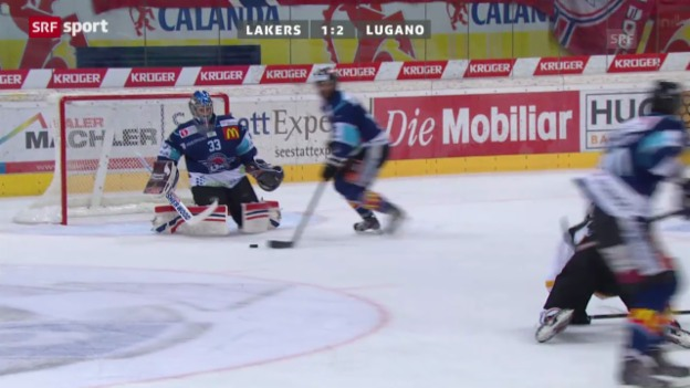 Video «NLA: Lakers - Lugano» abspielen