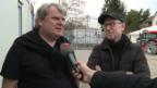 Video «Giacobbo/Müller vor ihrer Knie-Premiere» abspielen