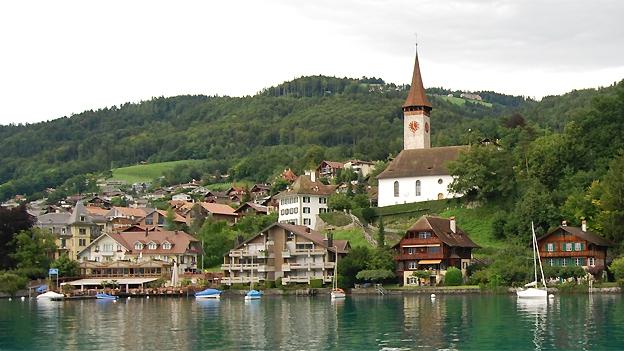 Glockengeläut der reformierten Kirche in Hilterfingen