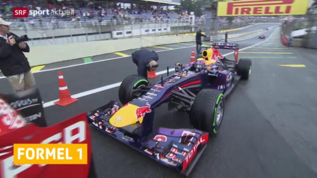 Video «Formel 1: Renault will keine Motoren mehr liefern» abspielen