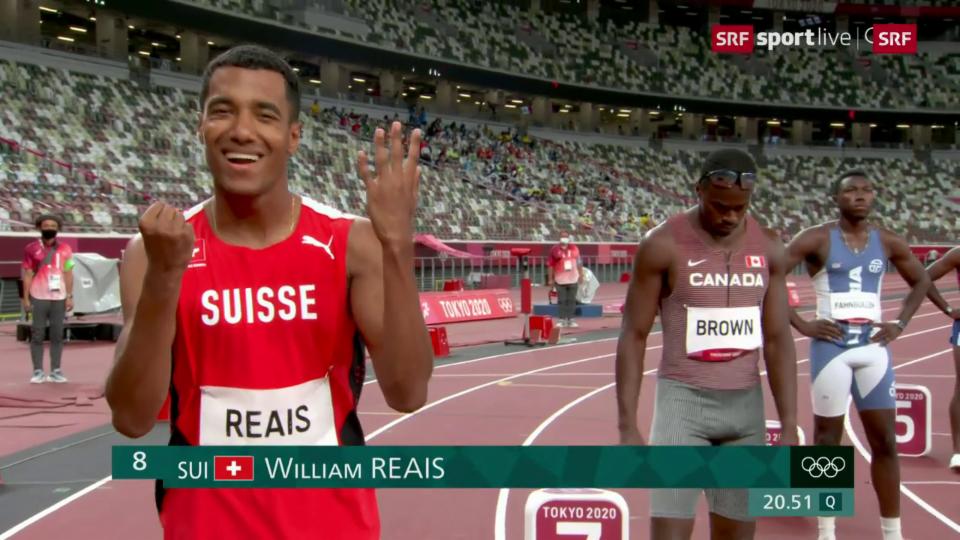 La cursa da mezfinal da William Reais