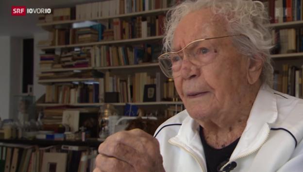 Video «106-jähriger Jubilar» abspielen