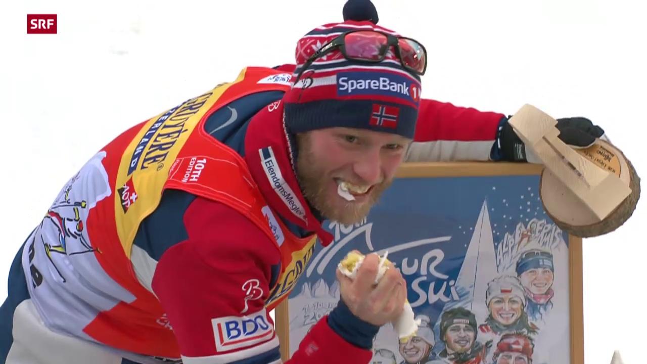 Überragender Sundby gewinnt Tour de Ski