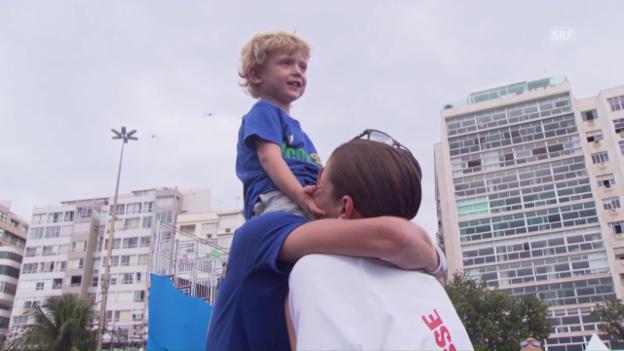 Video «Spirig über familiären Rückhalt» abspielen