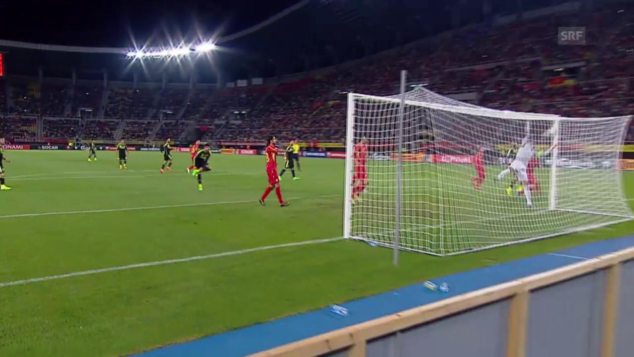 Fussball: EURO-Quali, Mazedonien - Spanien