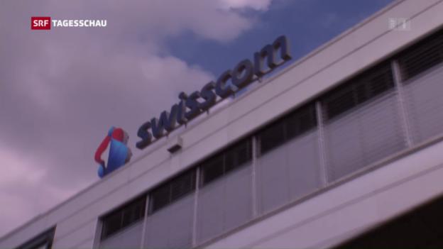 Video «Hohe Weko-Busse für Swisscom» abspielen