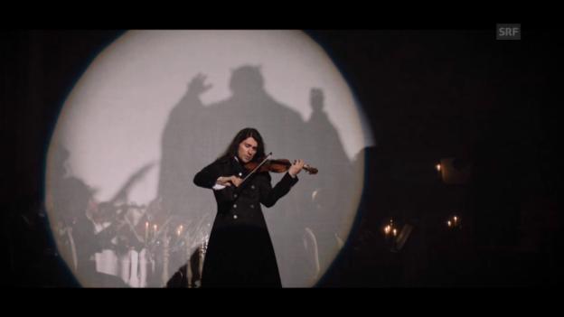 Video «David Garrett in «Der Teufelsgeiger»» abspielen