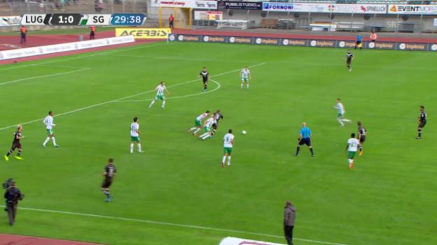 Video «Fussball: Super League, Tor durch Antonini Culina» abspielen