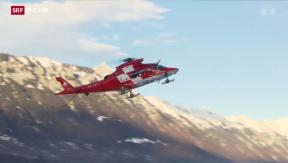 Video «Fall Schumacher: Rega prüft Anzeige gegen Unbekannt» abspielen