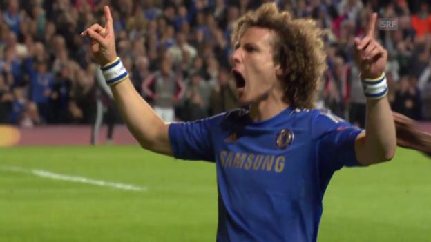Video «EL 2012/13: Basel gegen Chelsea und David Luiz» abspielen