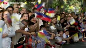 Video «Papst besucht die Philippinen» abspielen