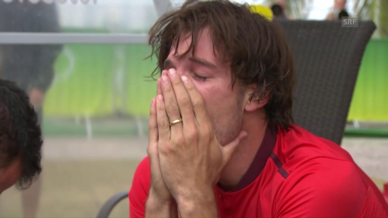 Freudentränen bei Olympiasieger Cancellara
