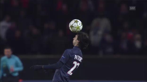 Video «CL-Achtelfinal Valencia - PSG» abspielen