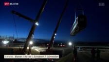 Video «Zugunglück trotz modernster Sicherheitsanlagen» abspielen