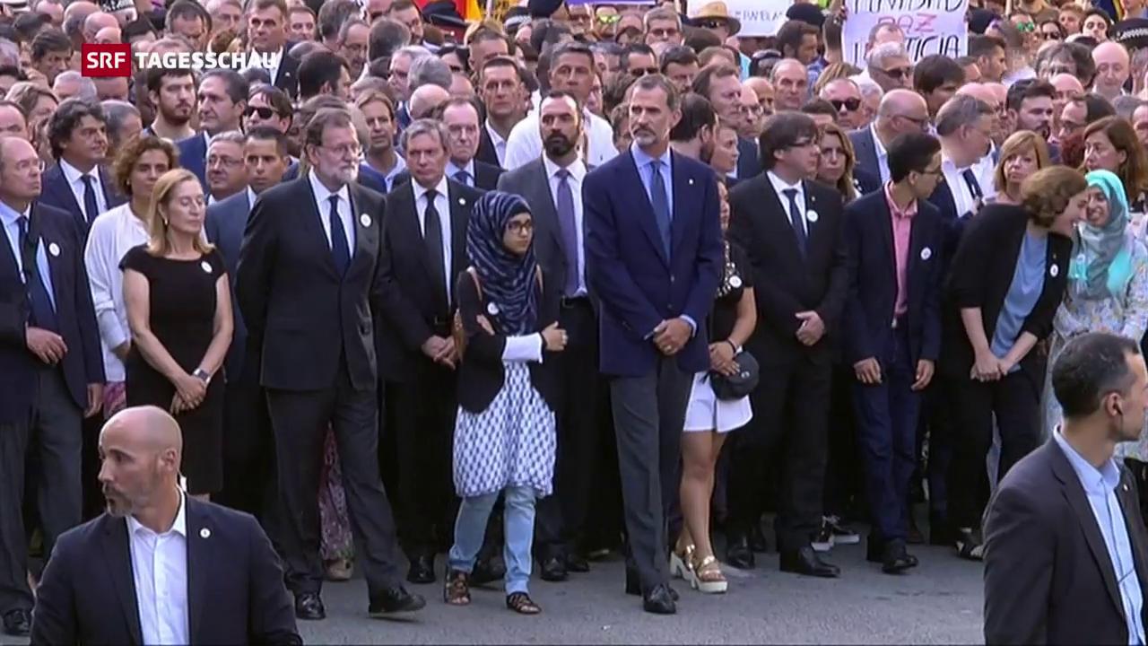 Demonstration gegen Terror und Gewalt
