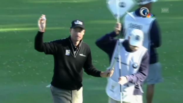 Video «Golf: Jim Furyk gelingt historische 59er-Runde (Quelle: EVS)» abspielen