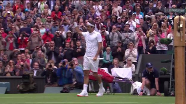 Video «Tennis: Highlights Federer - Hanescu («sportlive»)» abspielen