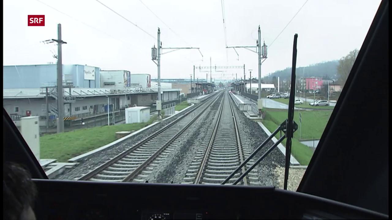 Grenzüberschreitende S-Bahn im Tessin