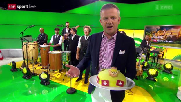 Video «FIFA WM - Viva Brasil vom 25.06.2014» abspielen