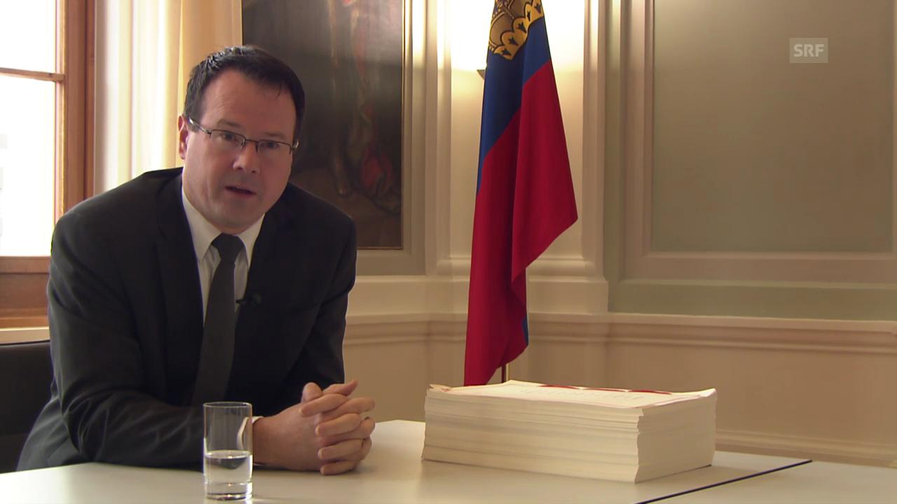 Thomas Zwiefelhofer zur Sonderregelung Liechtensteins