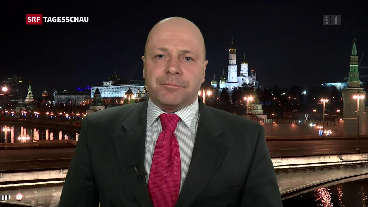Die Einschätzung von Russland-Korrespondent Christoph Wanner