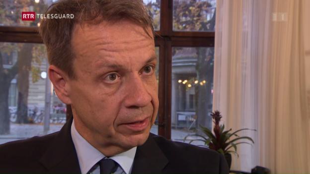Laschar ir video «Gilles Marchand è elegì sco nov directur da la SRG SSR»