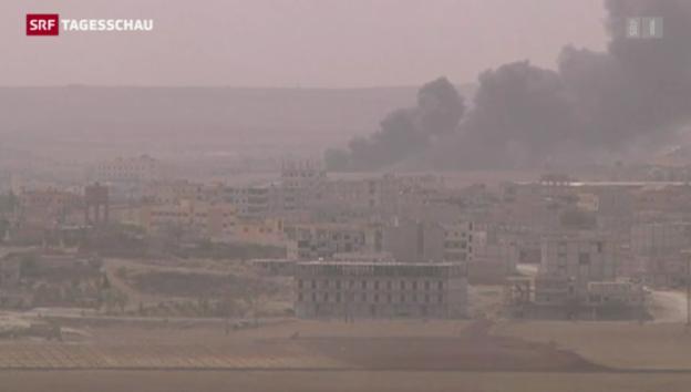 Video «Kobane in die Zange genommen» abspielen