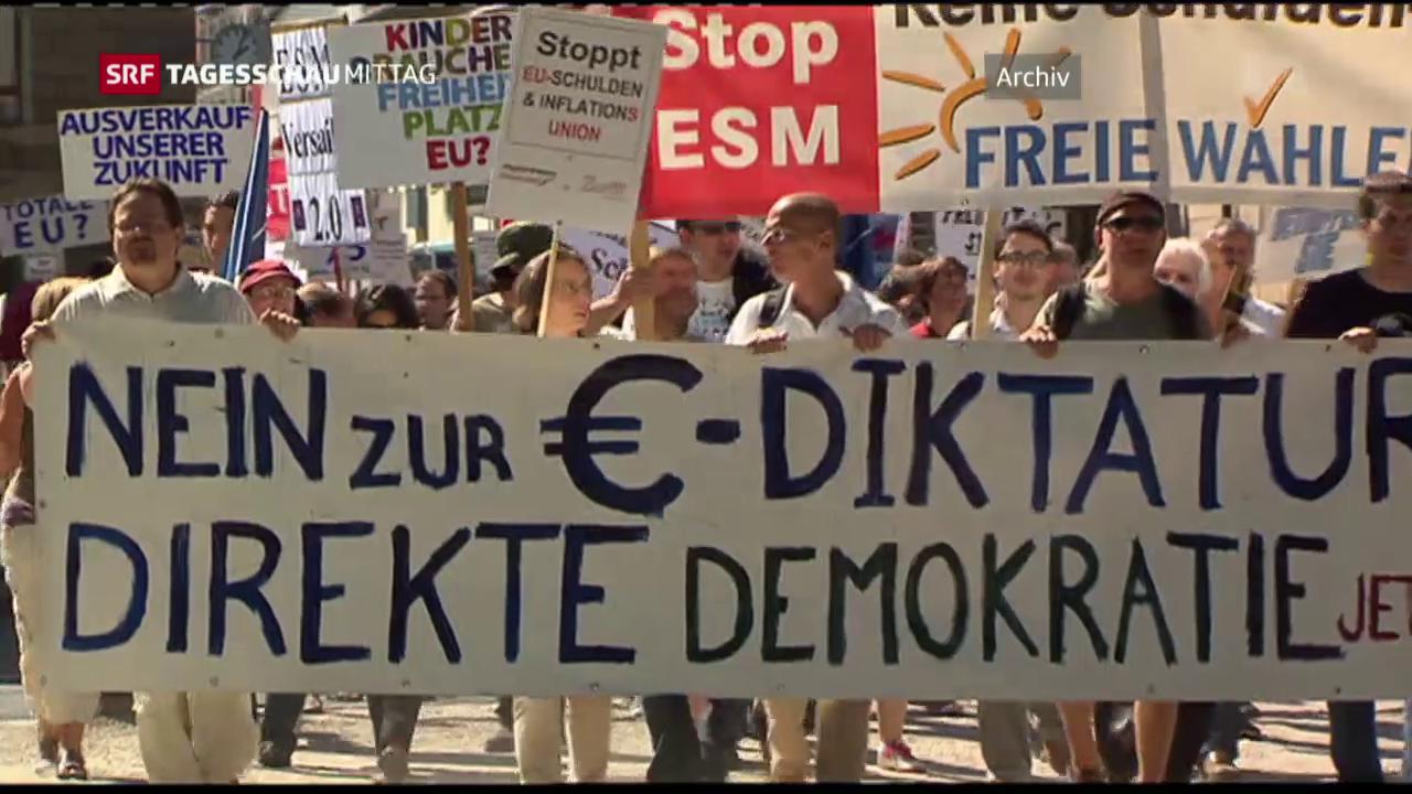 EZB-Kritiker scheitern vor Gericht