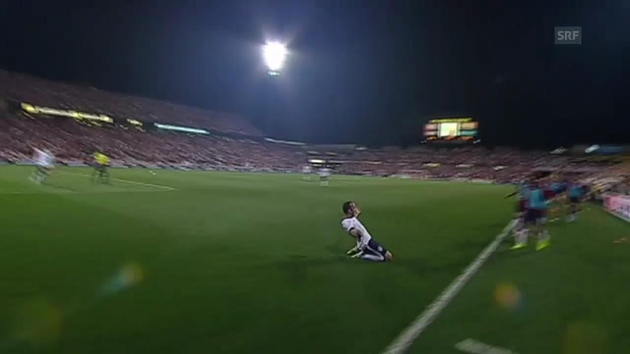 Landon Donovans wichtiges Tor in der WM-Qualifikation gegen Mexiko