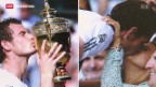 Video «Am Tag nach Andy Murrays Wimbledon-Sieg» abspielen
