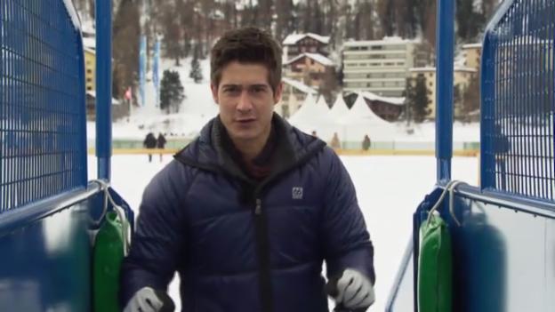 Video ««Einstein» entdeckt ... Skikjöring» abspielen