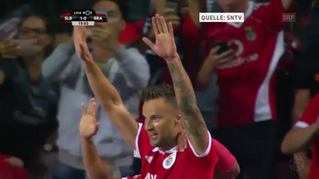 Video «Seferovic trifft zum richtungsweisenden 1:0» abspielen