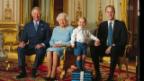 Video «Queen Elizabeth II auf Generationen-Briefmarke» abspielen
