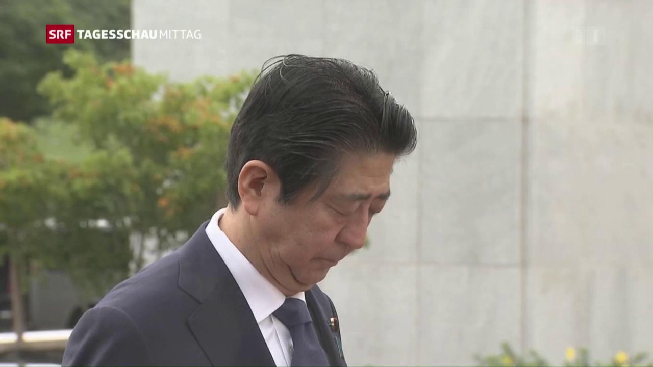 Japans Premier Abe besucht Pearl Harbor