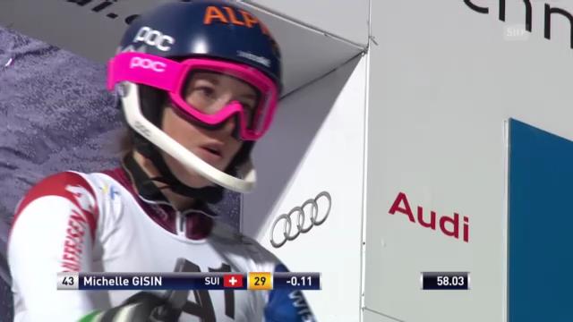 Ski: Weltcup-Slalom Frauen in Flachau, 2. Lauf von Michelle Gisin