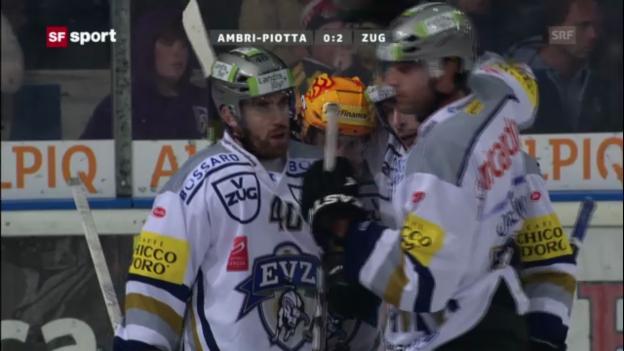 Video «Top 1: Die Lockout-Stars begeistern auf Schweizer Eis» abspielen