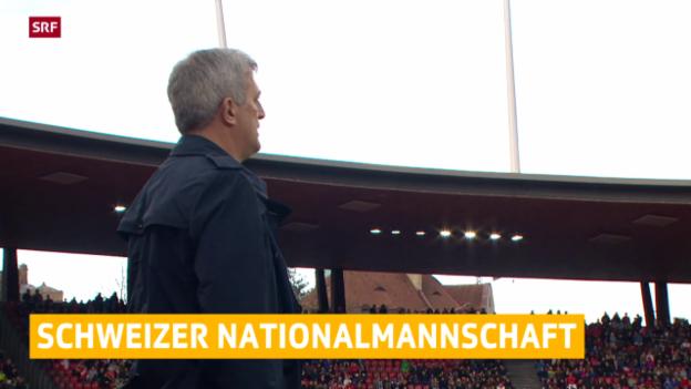 Video «Fussball: Das Aufgebot der Nati für die Spiele gegen Liechtenstein und Litauen» abspielen